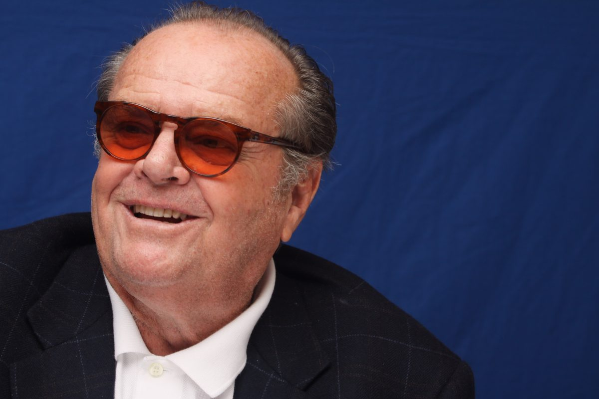 Jack Nicholson poses for a photo during a portrait session in New York, NY on December 7, 2010.