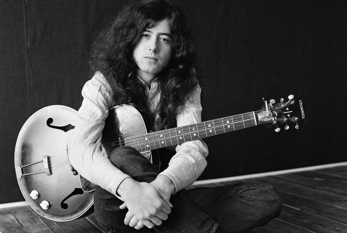 Jimmy Page in 1970