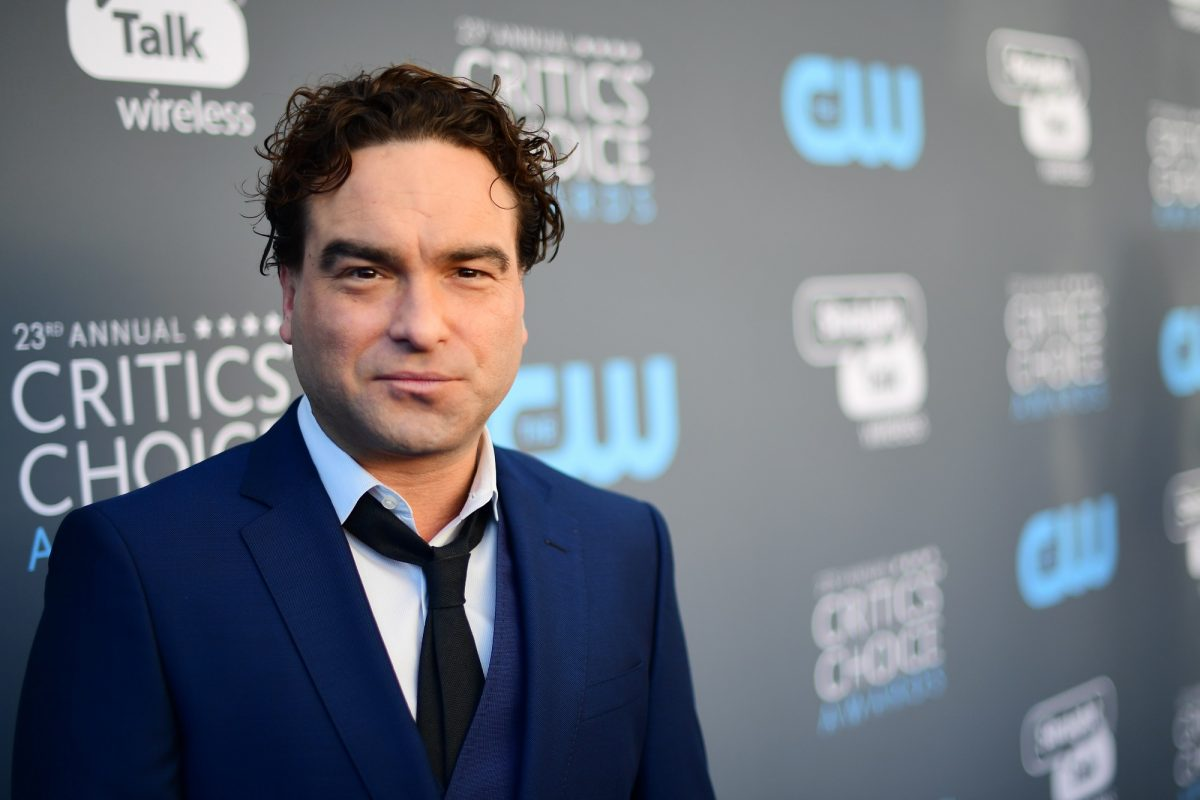 Johnny Galecki attends The 23rd Annual Critics' Choice Awards on January 11, 2018 in Santa Monica, California.
