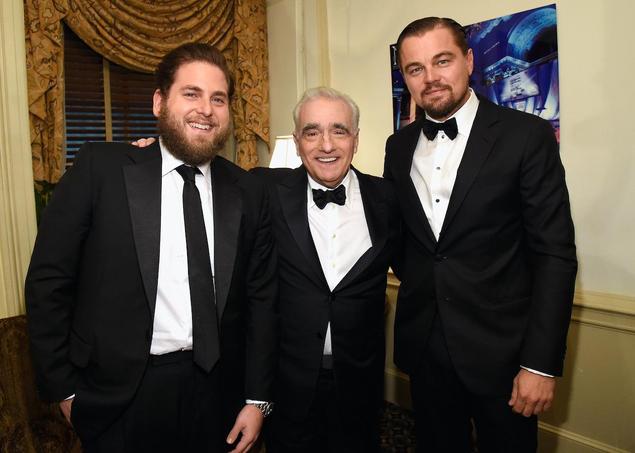 Johah Hill and Martin Scorsese