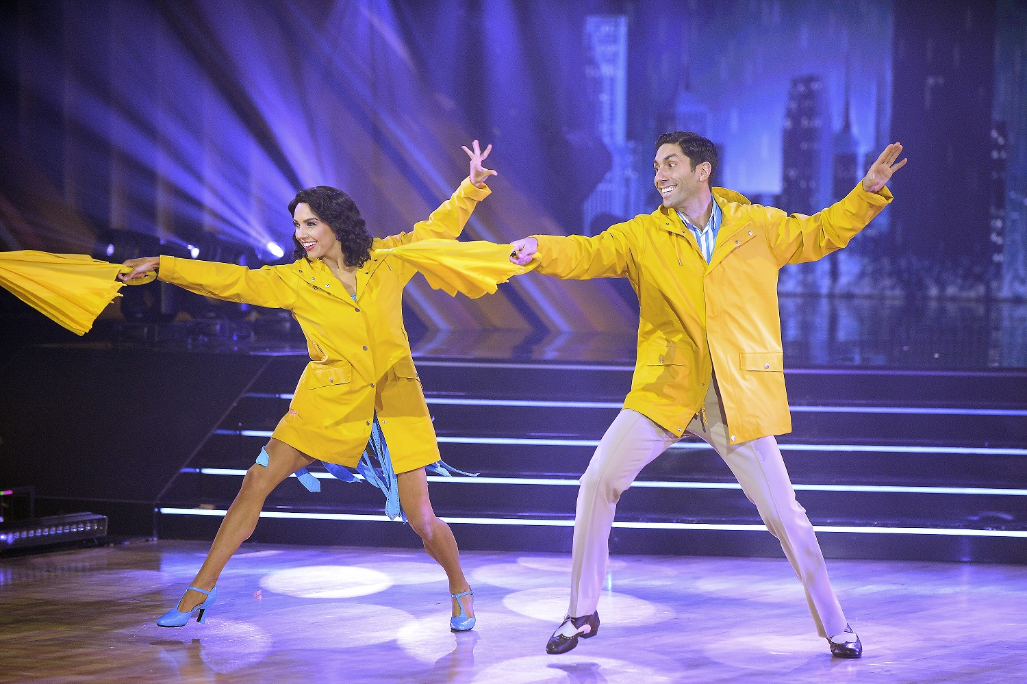 Jenna Johnson and Nev Schulman on Dancing With the Stars