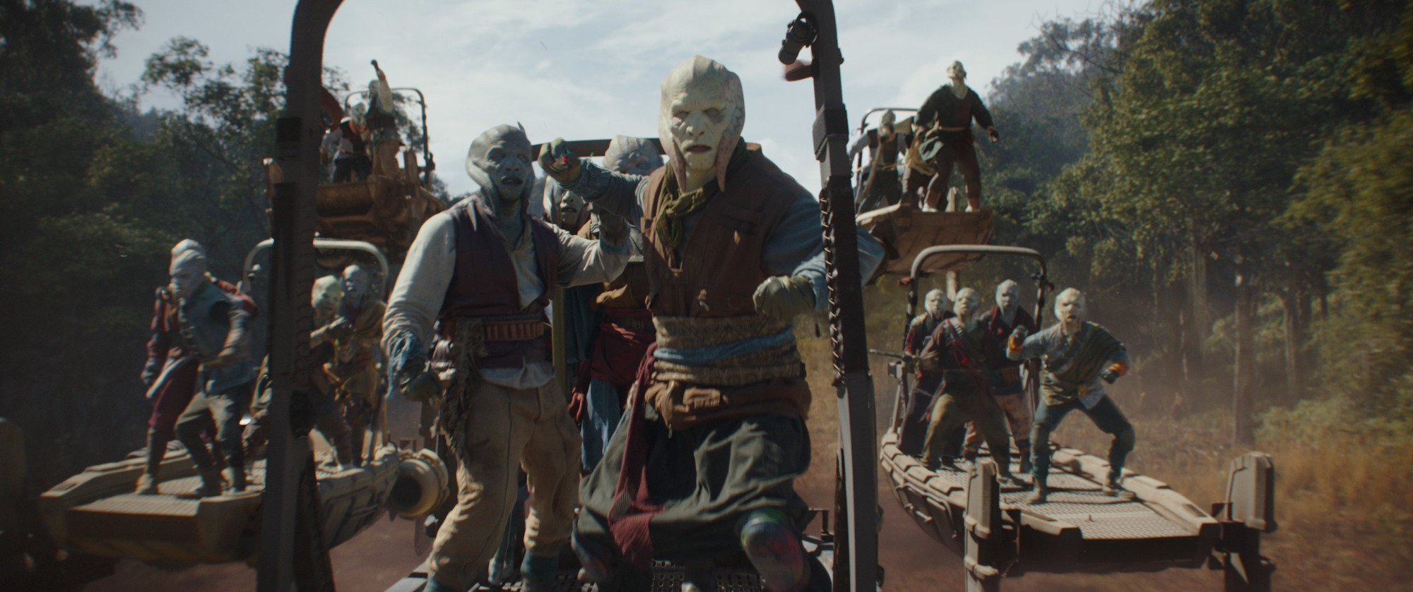 Pirates in 'The Mandalorian'