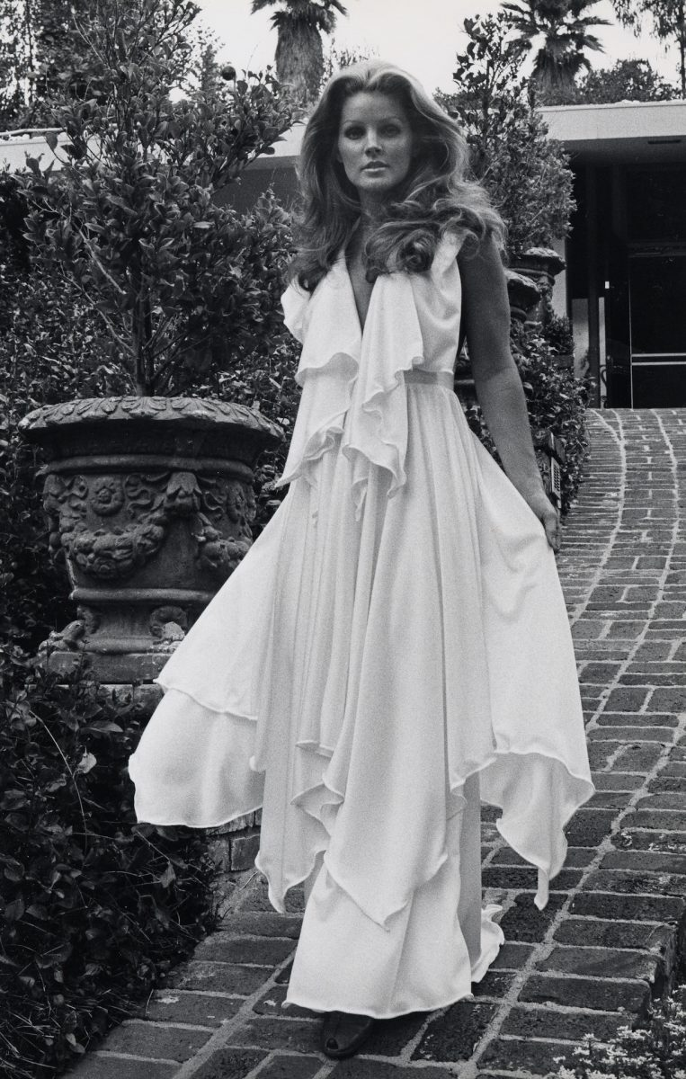 Exclusive Photo Shoot of Priscilla Presley at her Beverly Hills Home - April 9, 1975