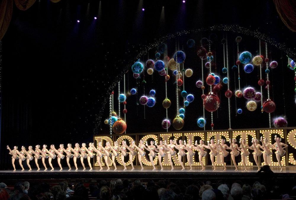 Rockettes performing