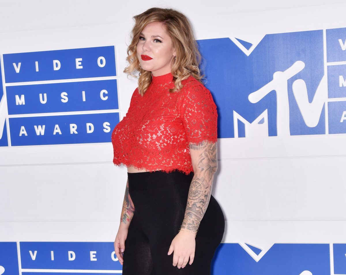 Kailyn Lowry at the 2016 MTV Video Music Awards