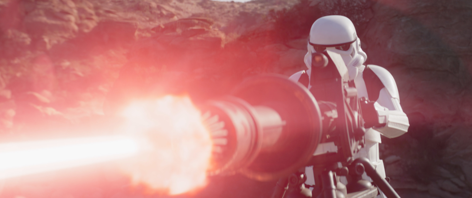 A Stormtrooper on Tython in 'The Mandalorian'
