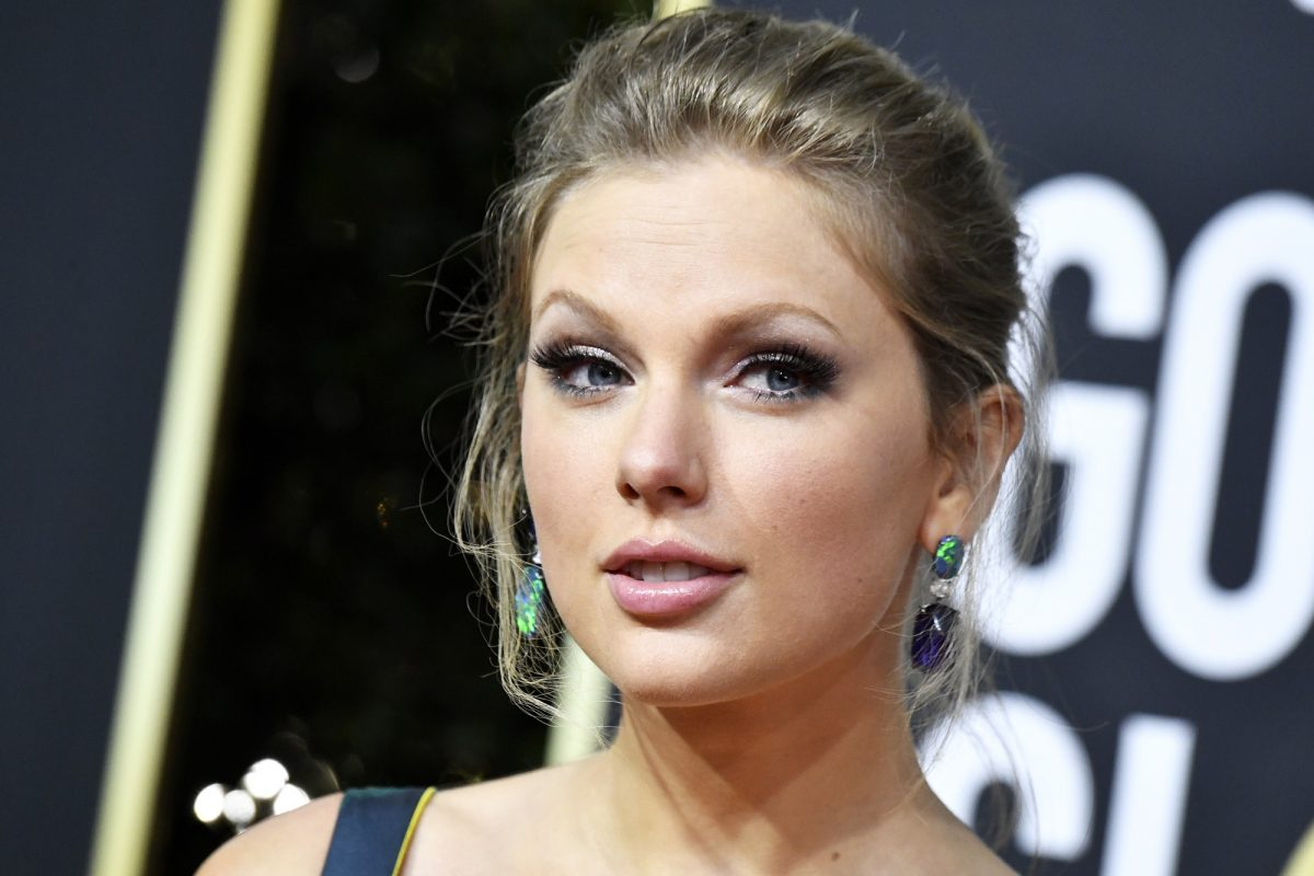 Taylor Swift attends the 77th Annual Golden Globe Awards on January 05, 2020 in Beverly Hills, California.