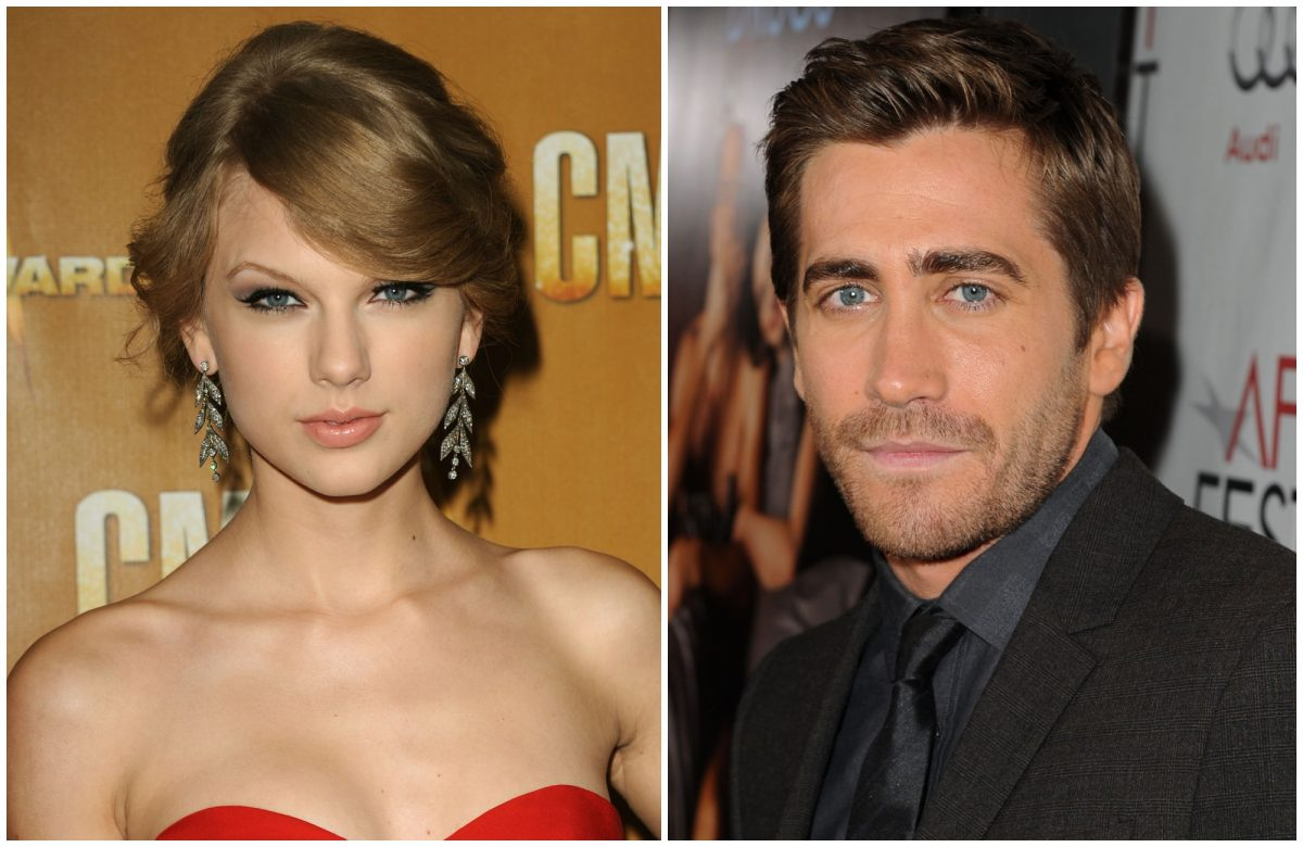 composite image of Taylor Swift and Jake Gyllenhaal
