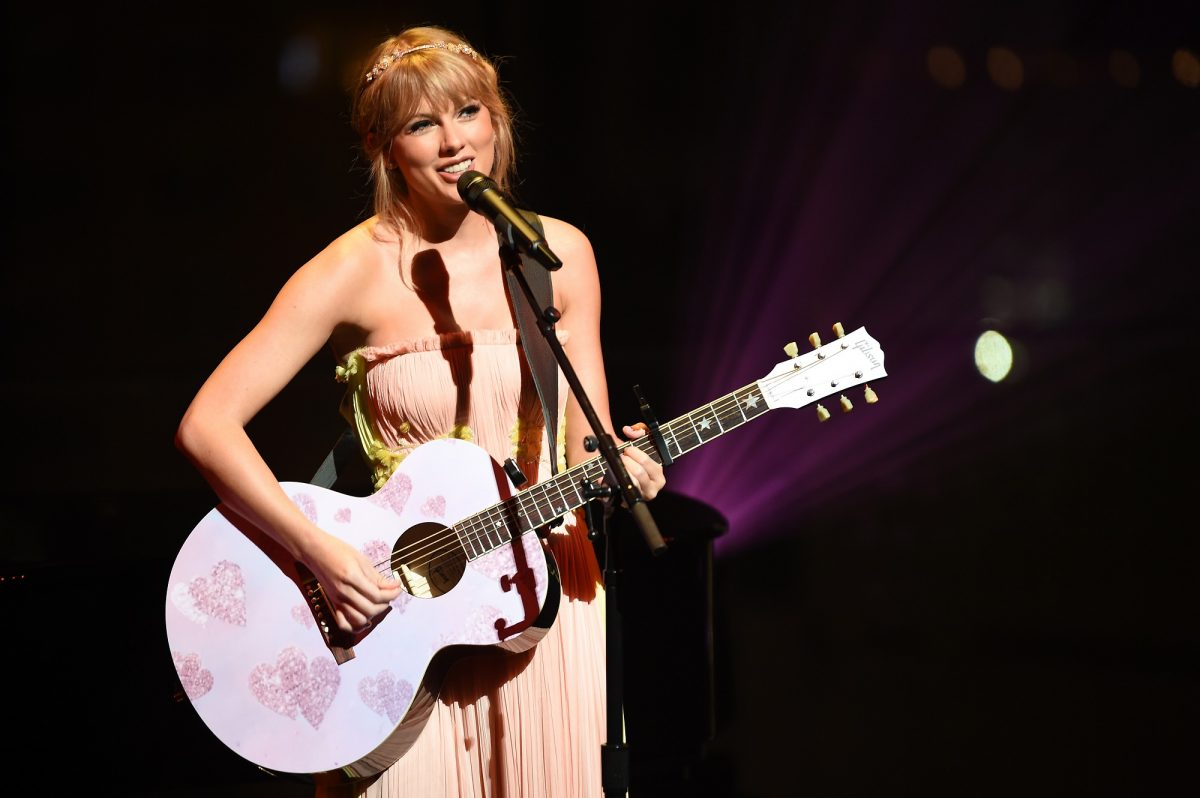 Taylor Swift performs during the TIME 100 Gala 2019 Dinner on April 23, 2019 in New York City.