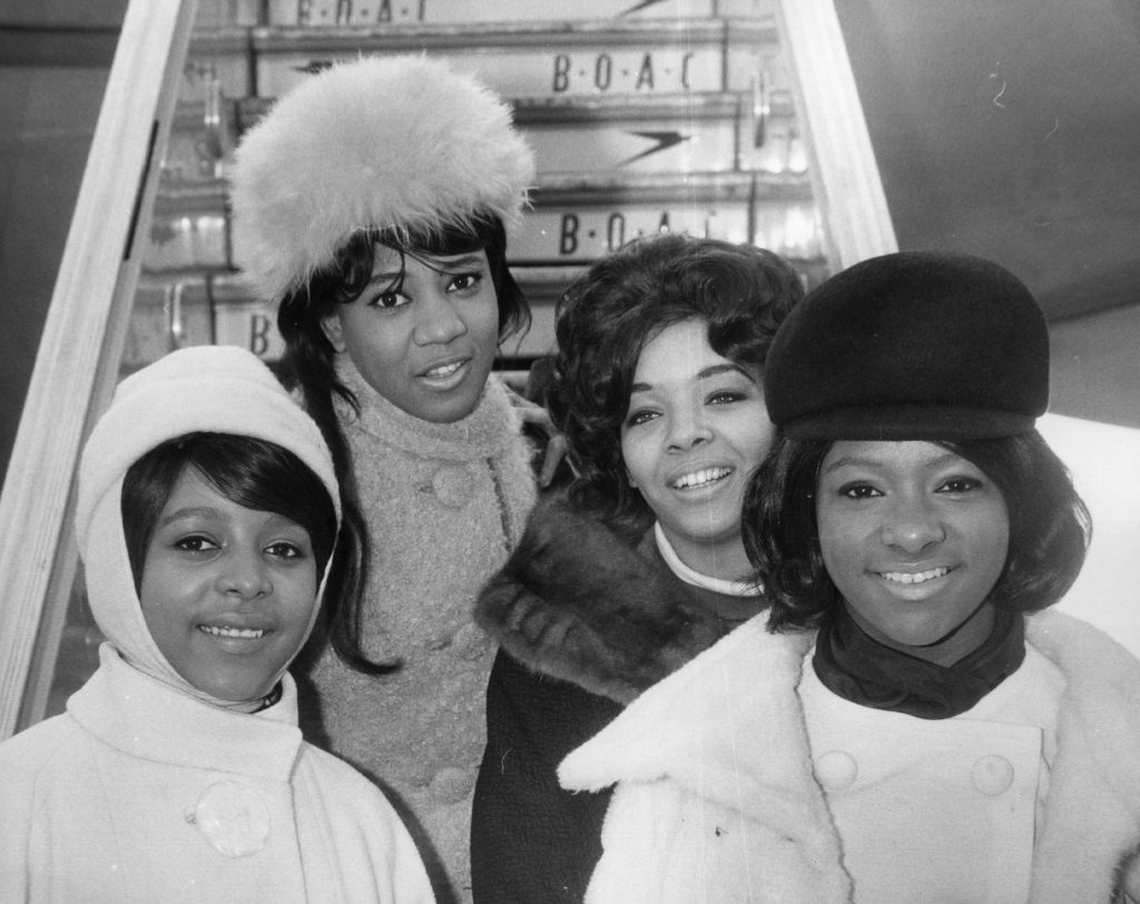 Members of The Crystals