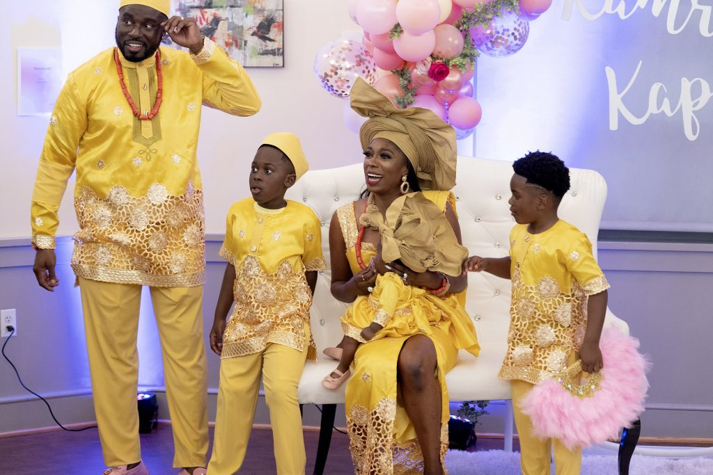 Eddie Osefo, Wendy Osefo and their sons