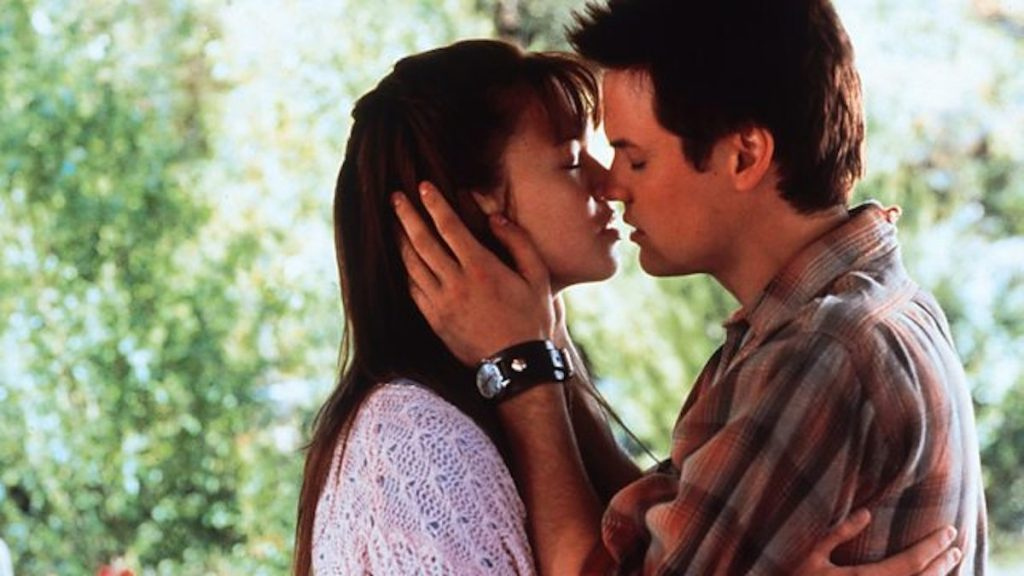 Mandy Moore and Shane West in 'A Walk To Remember' | YouTube
