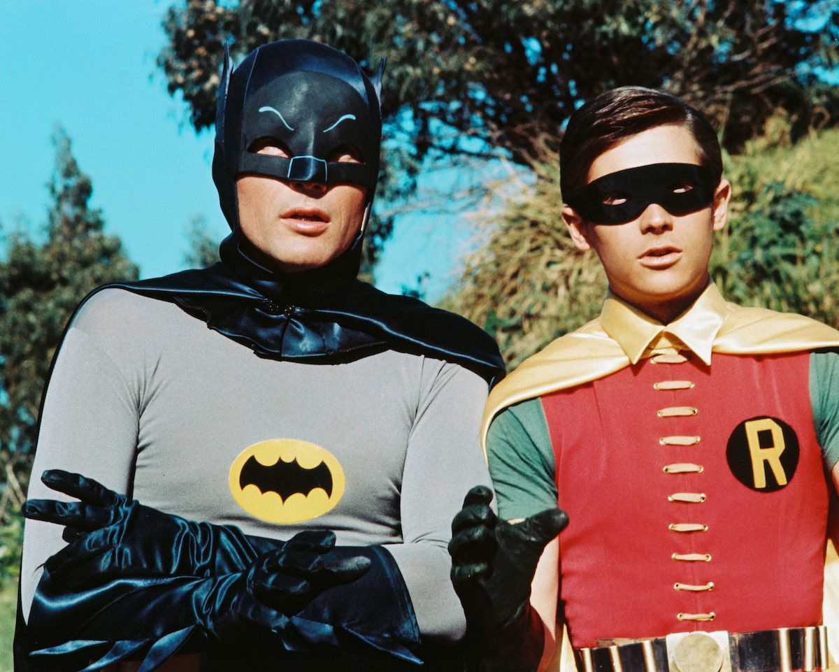 Adam West and Burt Ward in 'Batman'