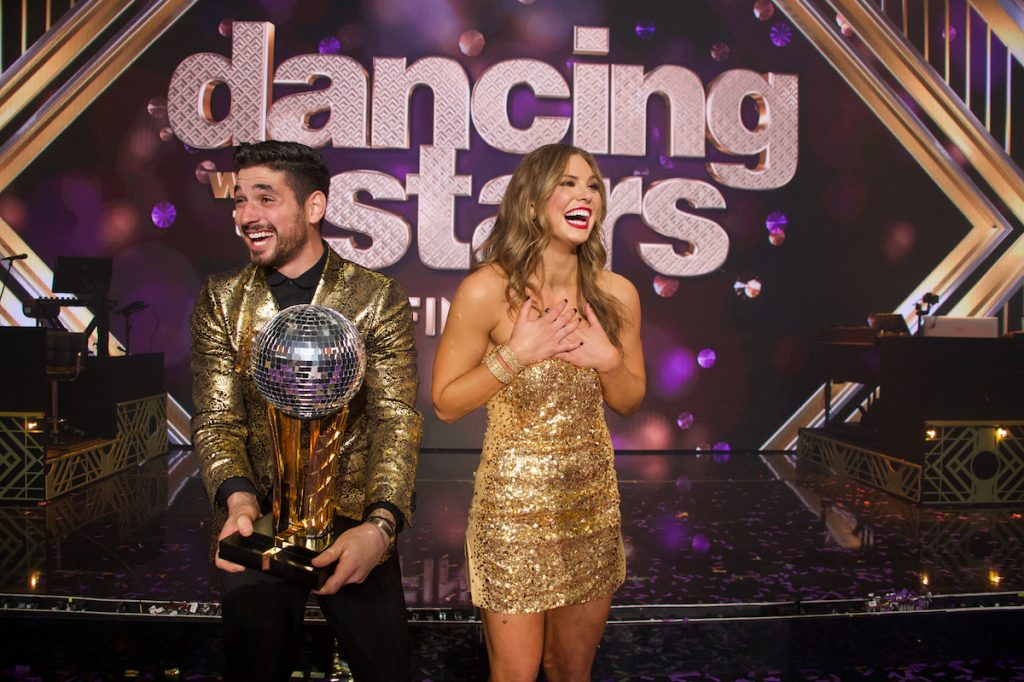 Alan Bersten and Hannah Brown on 'Dancing with the Stars'