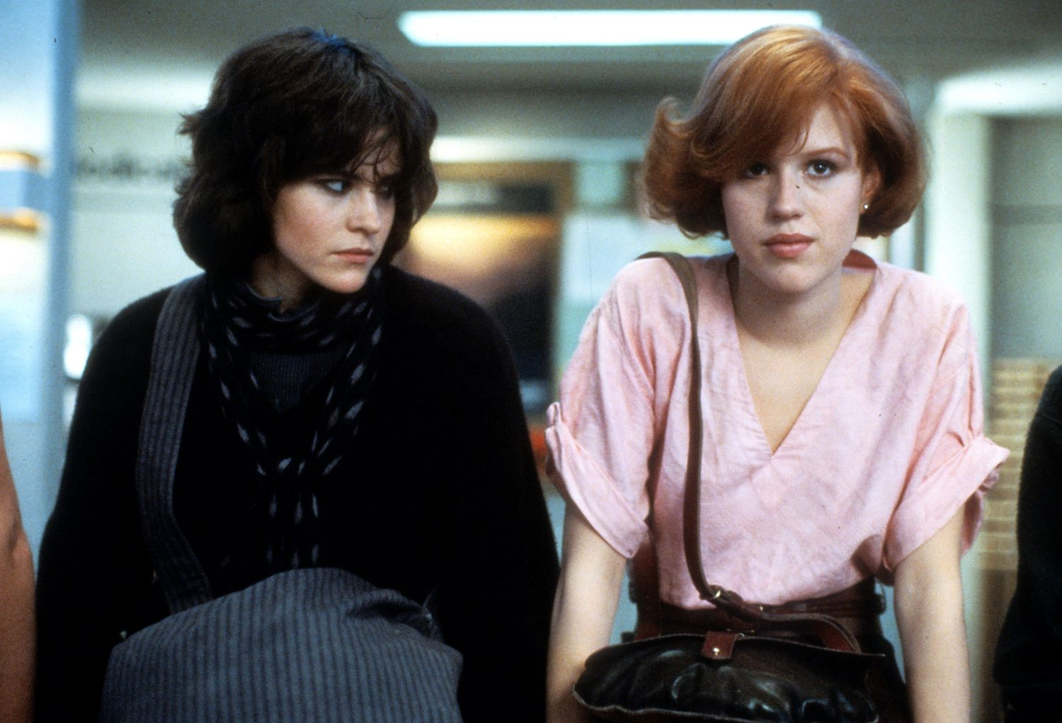 Ali Sheedy and Molly Ringwald in 'The Breakfast Club'