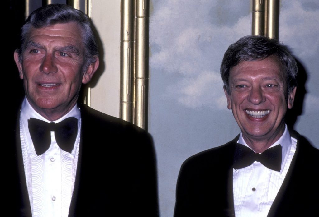 Andy Griffith and Don Knotts   Ron Galella, Ltd./Ron Galella Collection via Getty Images
