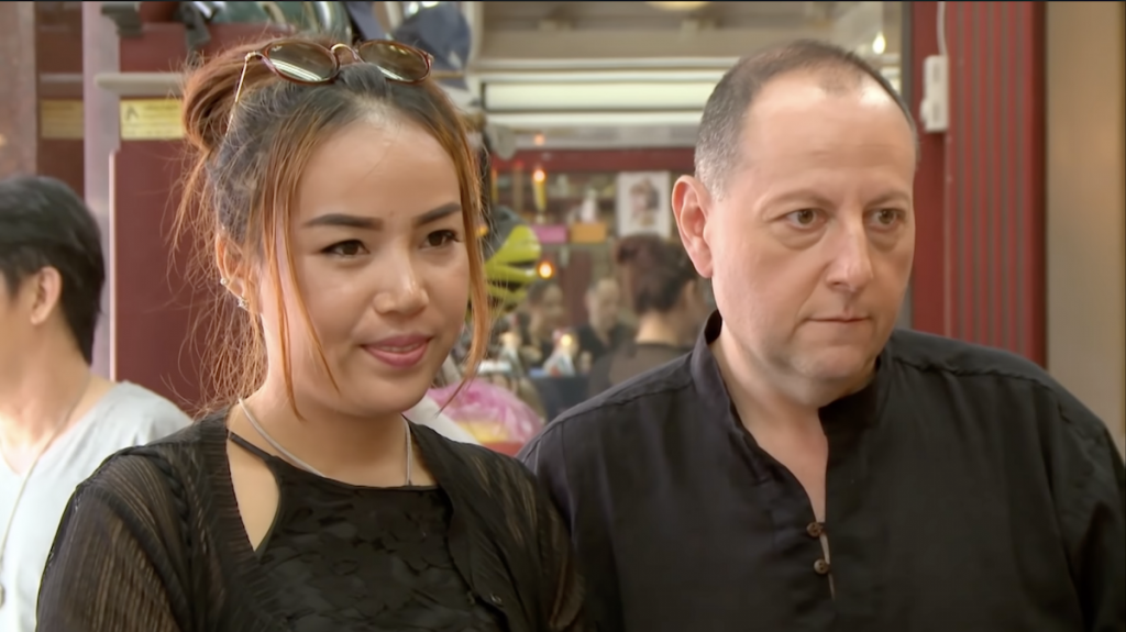 Annie Suwan and David Toborowsky in '90 Day Fiancé'