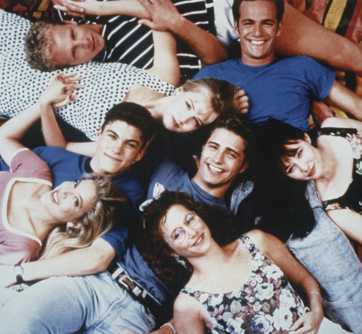 Tori Spelling, Brian Austin Green, Ian Ziering, Jennie Garth, Jason Priestley, Gabrielle Carteris, Luke Perry, Shannen Doherty