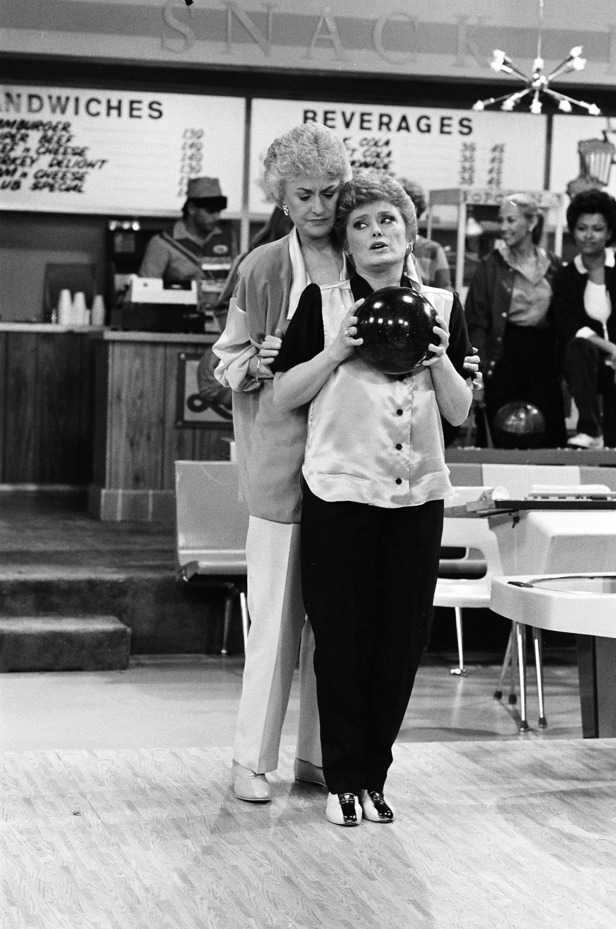 Bea Arthur and Rue McClanahan