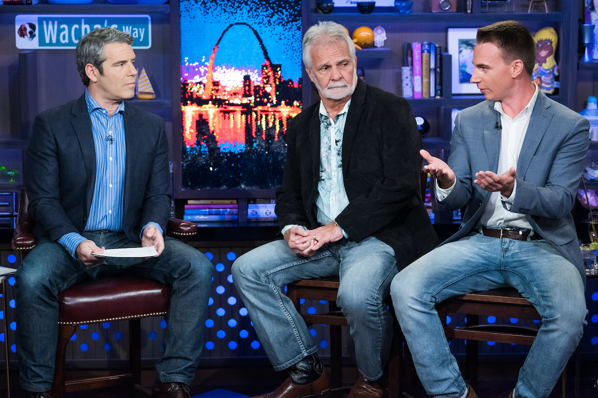 Andy Cohen, Captain Lee Rosbach and EJ Jansen