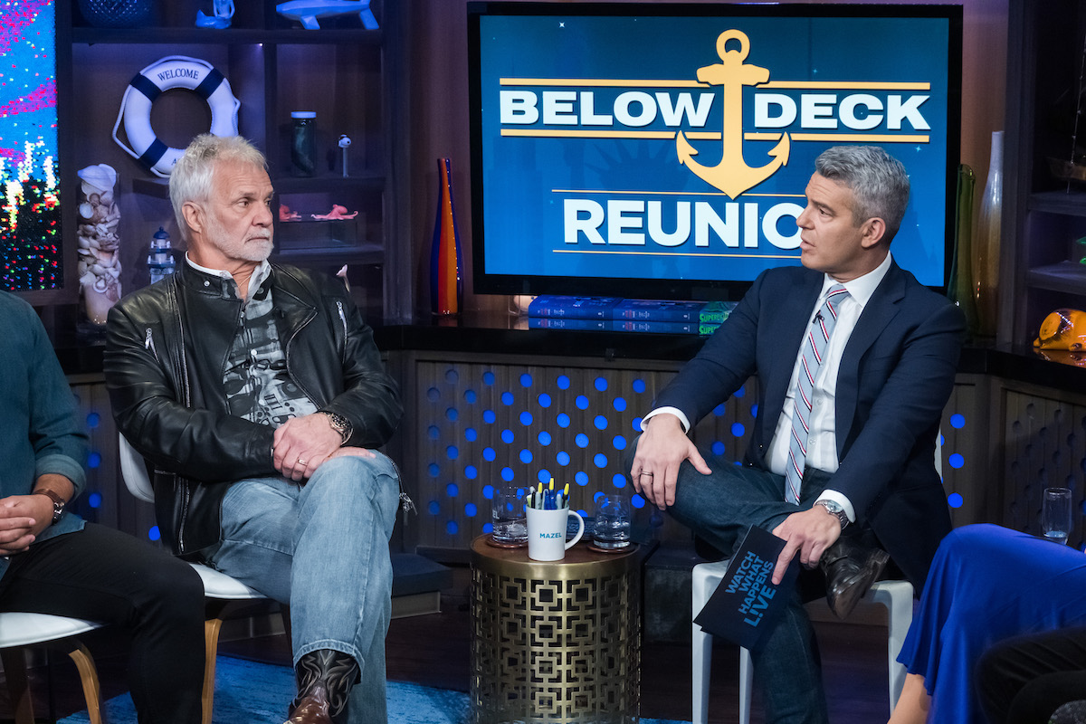 Captain Lee Rosbach, Andy Cohen
