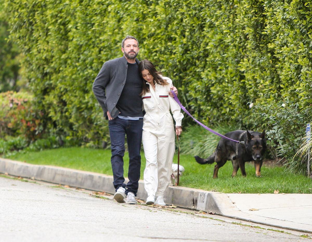 Ben Affleck and Ana de Armas in Los Angeles