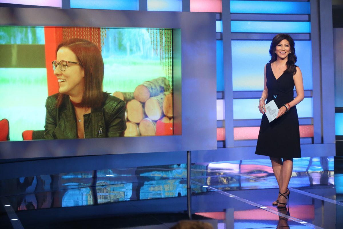 Julie Chen Moonves at the Big Brother Live Eviction show #12