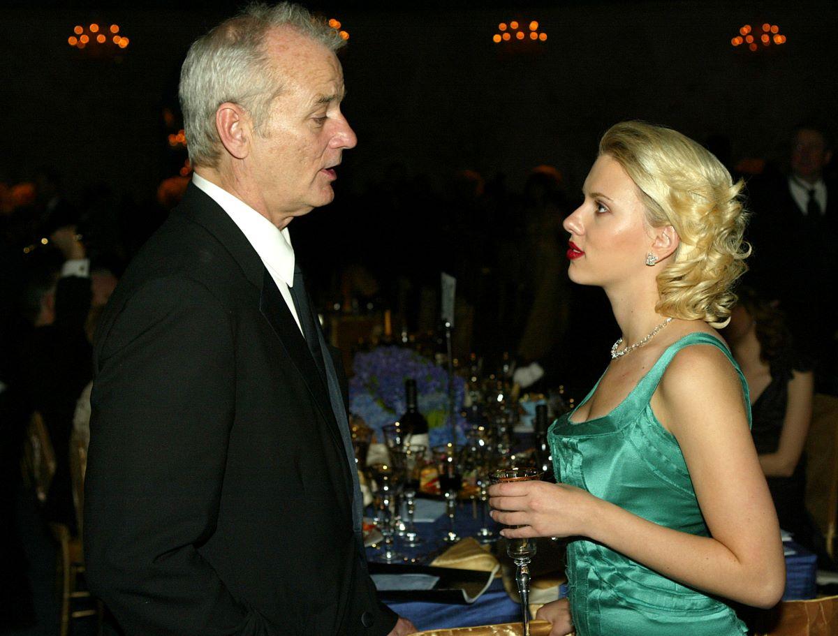 Bill Murray and Scarlett Johansson
