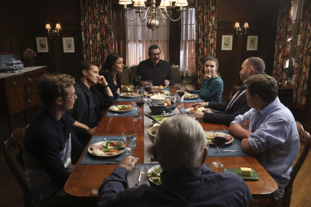 Blue Bloods family dinner  | Craig Blankenhorn/CBS via Getty Images