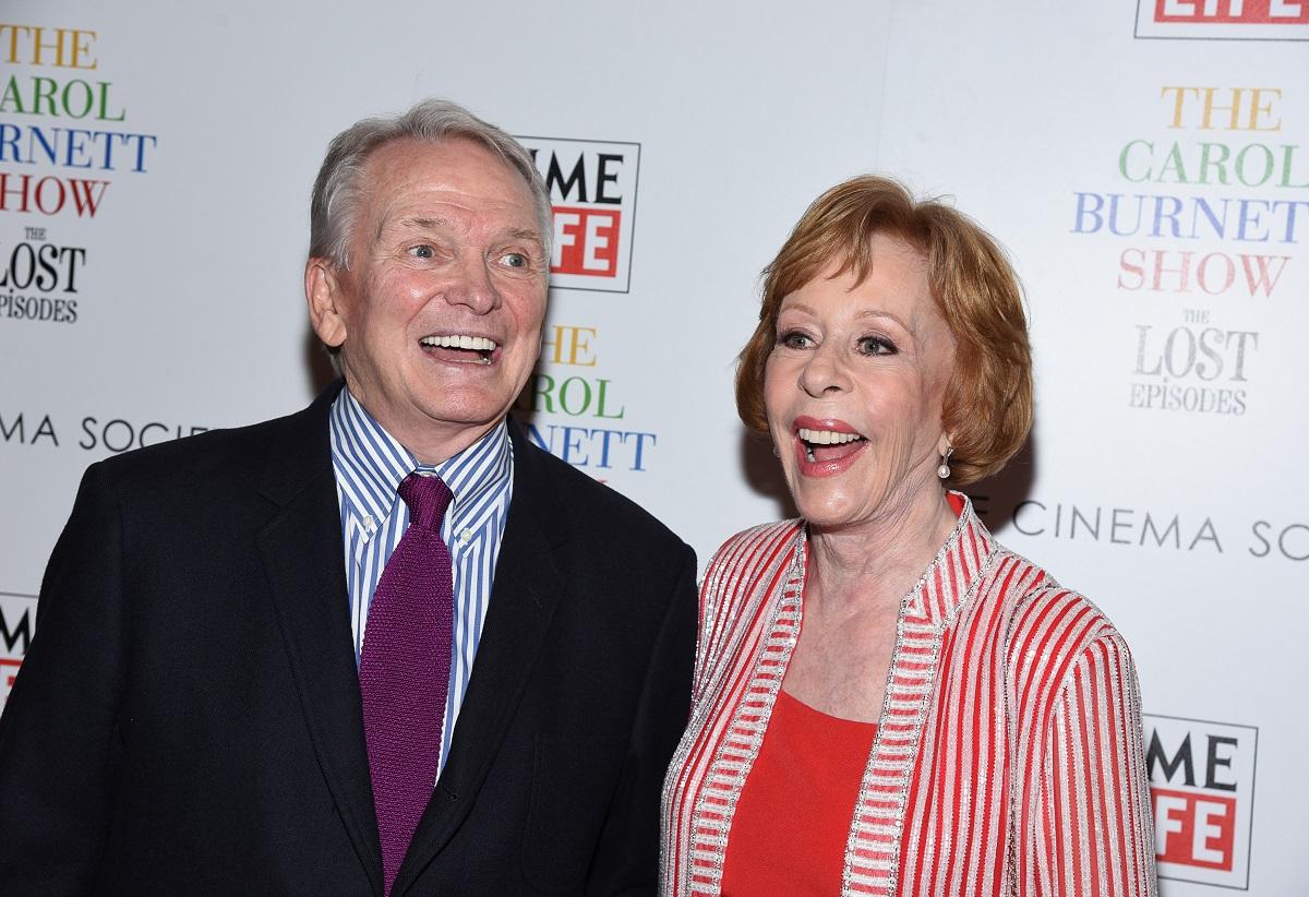 Bob Mackie and Carol Burnett