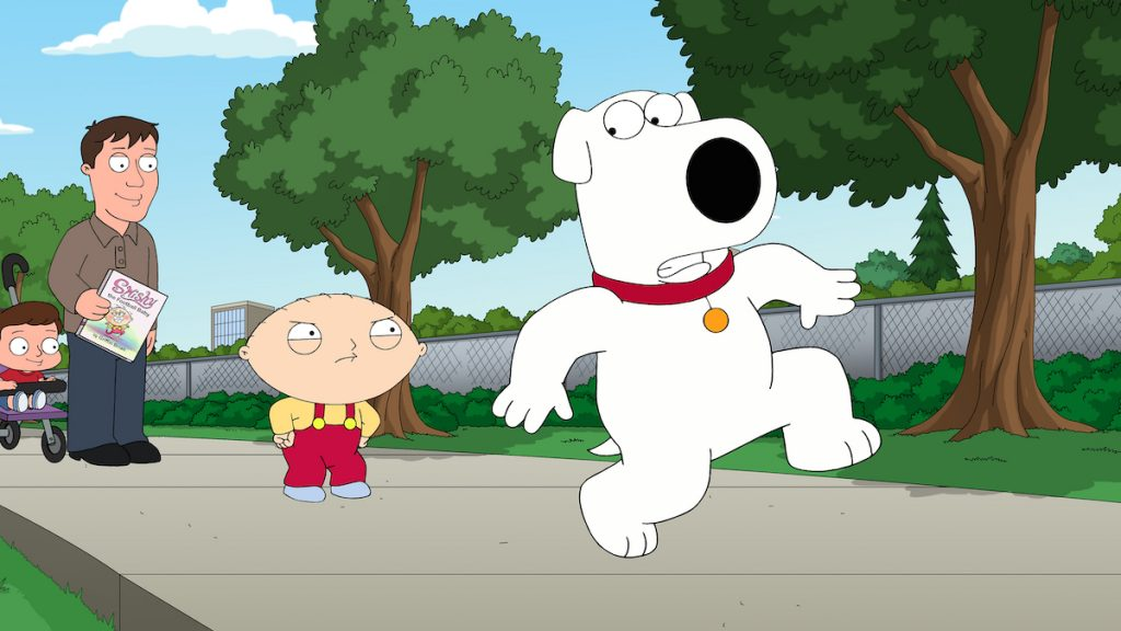 Brian and Stewie in  'Family Guy'