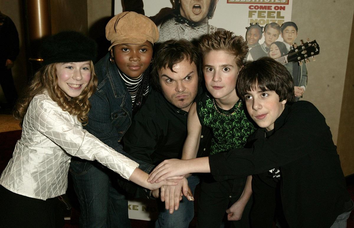Caitlin Hale, Maryam Hassan, Kevin Clark and Joey Gaydos Jr. in 2004