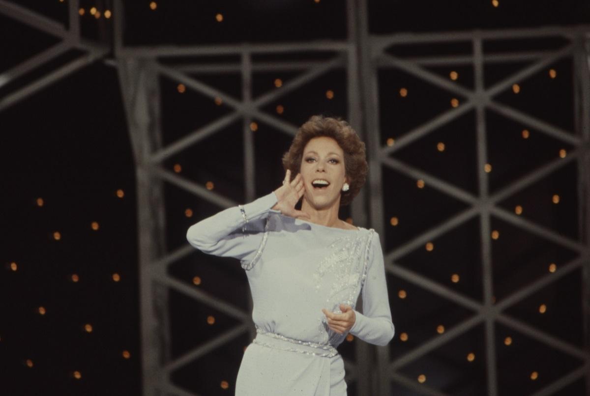 Carol Burnett on 'The Carol Burnett Show'
