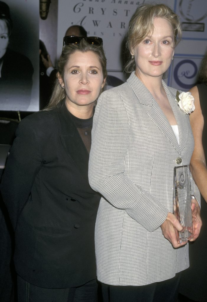 Carrie Fisher and Meryl Streep