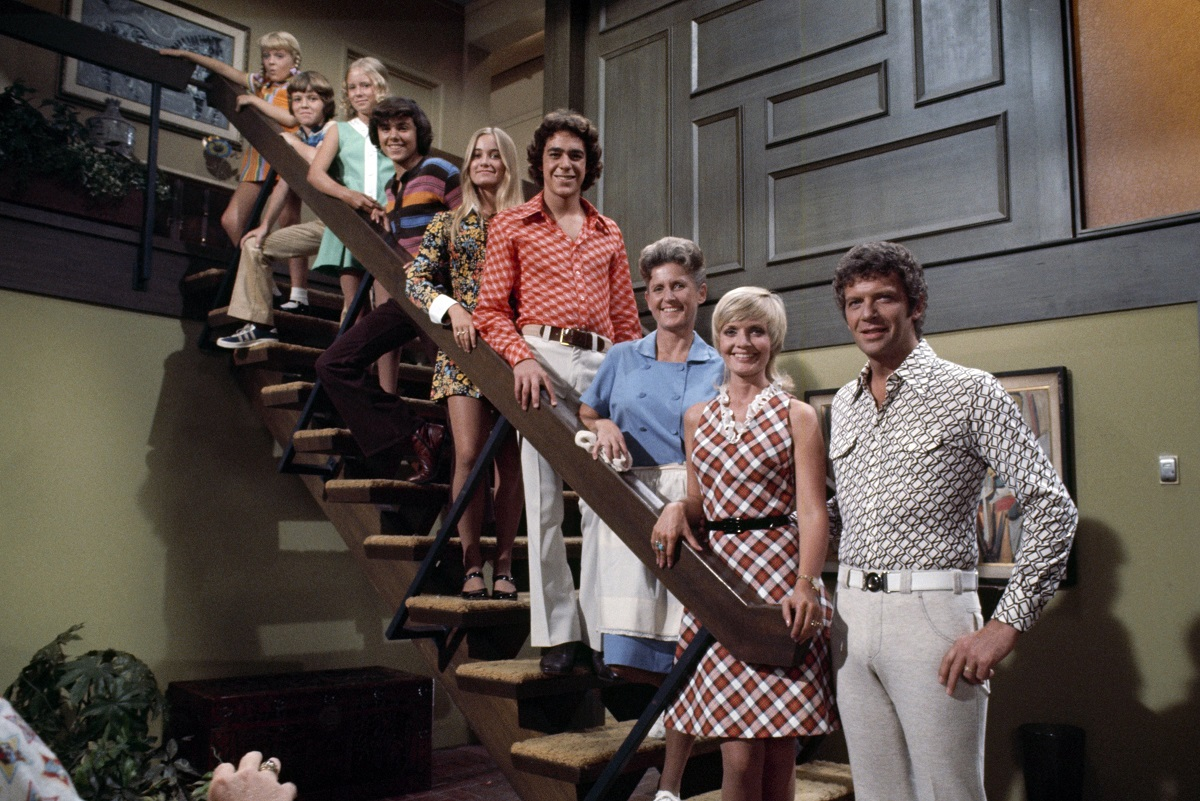 Cast of 'The Brady Bunch' in 1969