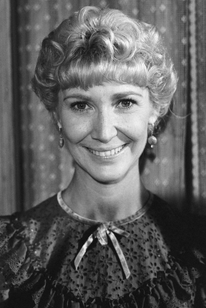 Charlotte Stewart on 'Little House on the Prairie'