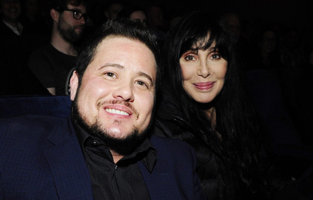 """Chaz Bono and Cher attend the Los Angeles Screening of """"Dirty"""" at Writers Guild Theater on March 1, 2015 in Beverly Hills, California   Amy Graves/WireImage"""