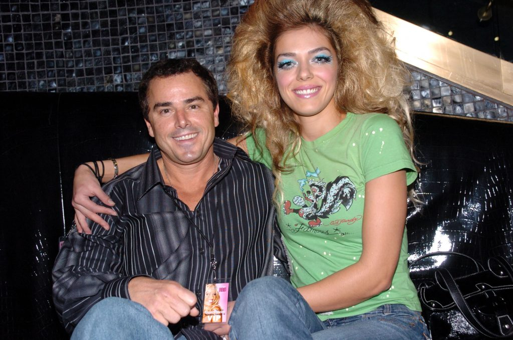 Christopher Knight and Adrian Curry