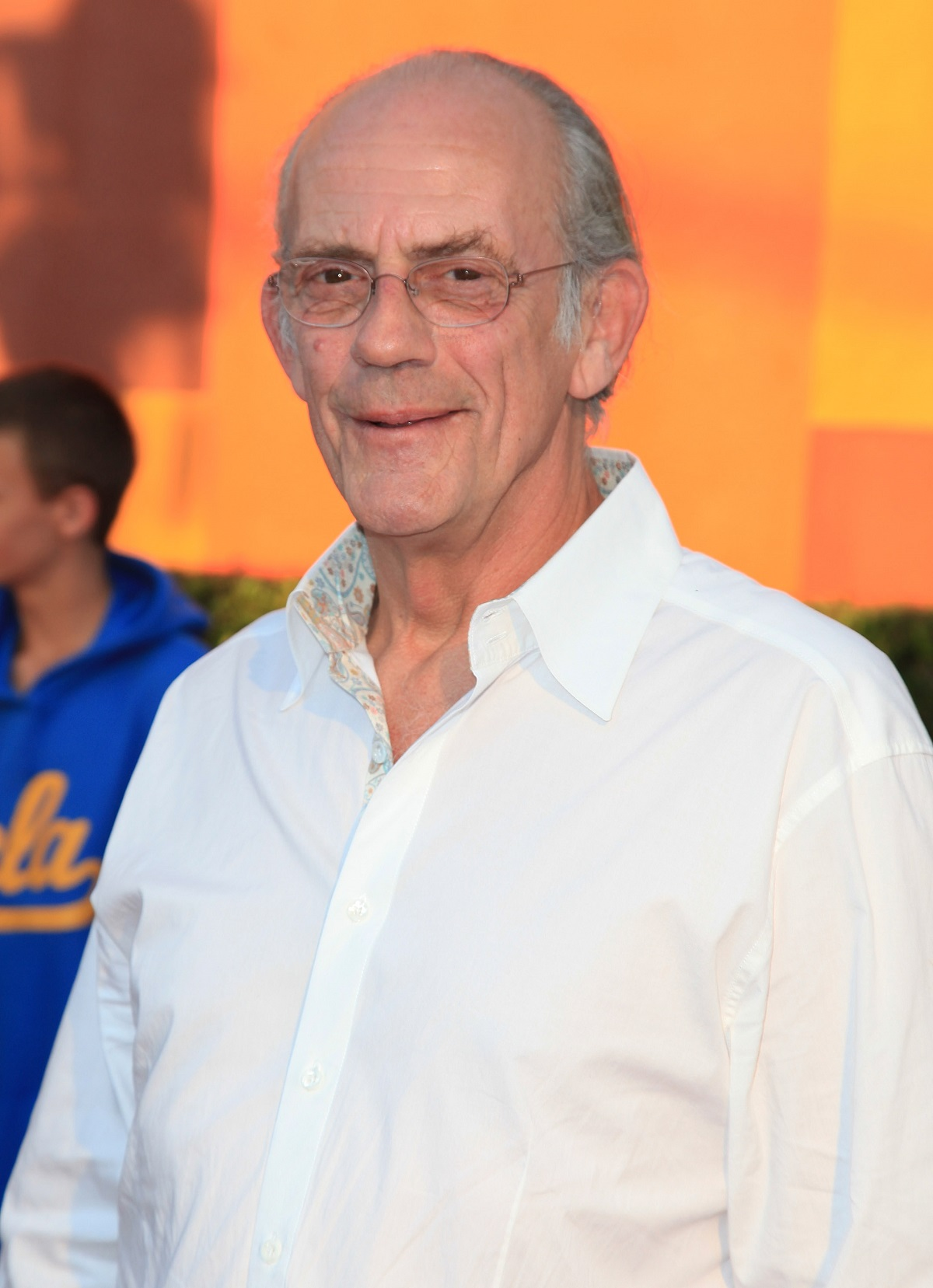 Christopher Lloyd, who played Professor Plum in 'Clue'