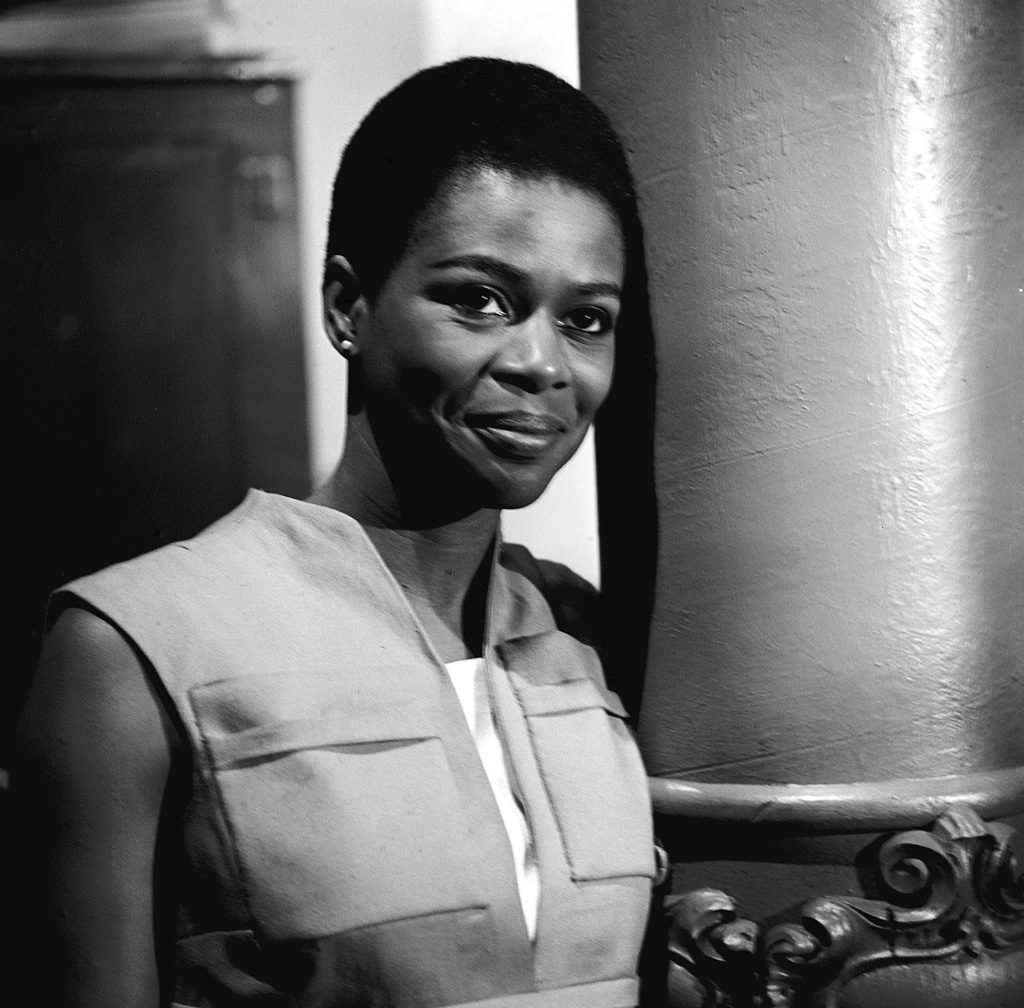 Cicely Tyson in a scene from the CBS television program 'East Side/West Side' on May 24, 1963