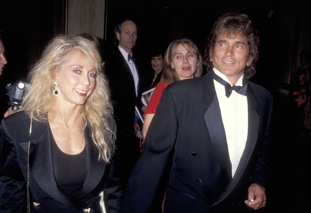 'Little House on the Trailer' star Michael Landon and wife Cindy Landon