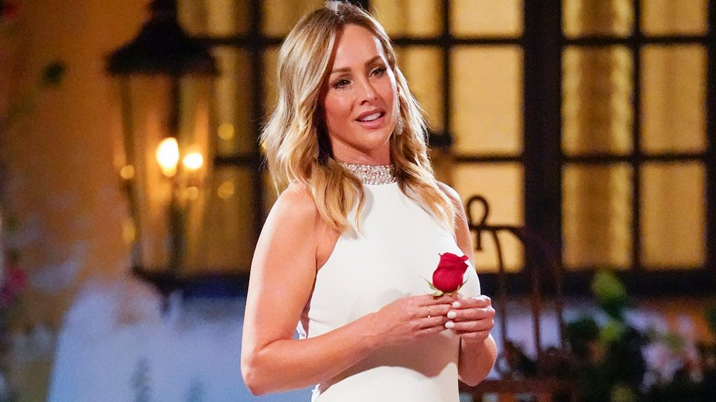 Clare Crawley on 'The Bachelorette' Season 16 with her final rose