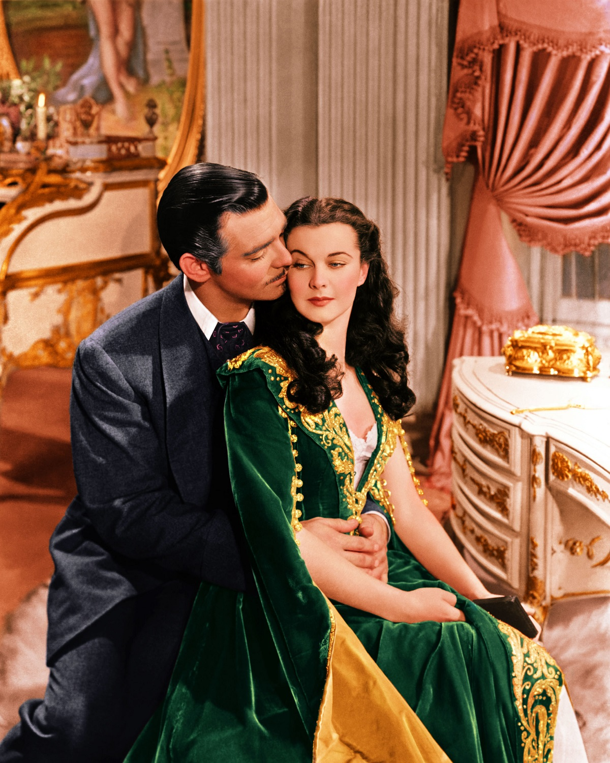 Clark Gable and Vivien Leigh in 1939