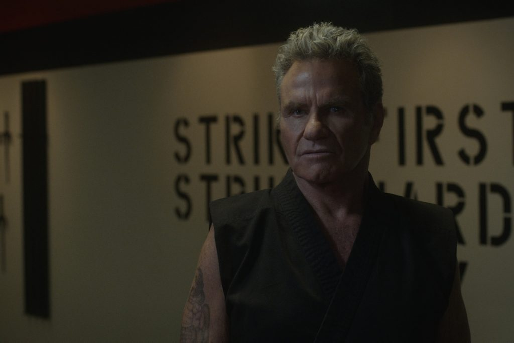 Martin Kove as John Kreese in 'Cobra Kai'