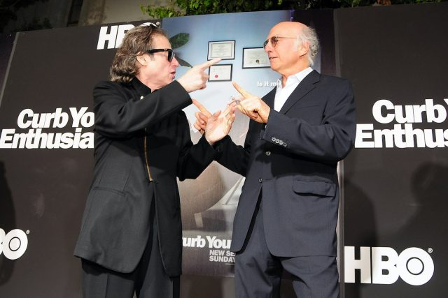 'Curb Your Enthusiasm':  Richard Lewis Recalls 'Screaming and Crawling on My Knees' From Back Pain During Season 10