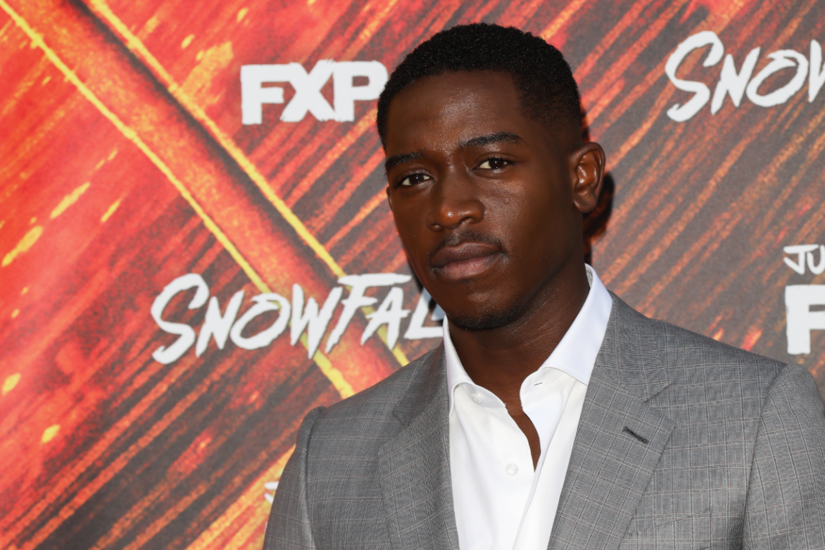 "Actor Damson Idris attends the premiere of FX's ""Snowfall"" season 3"