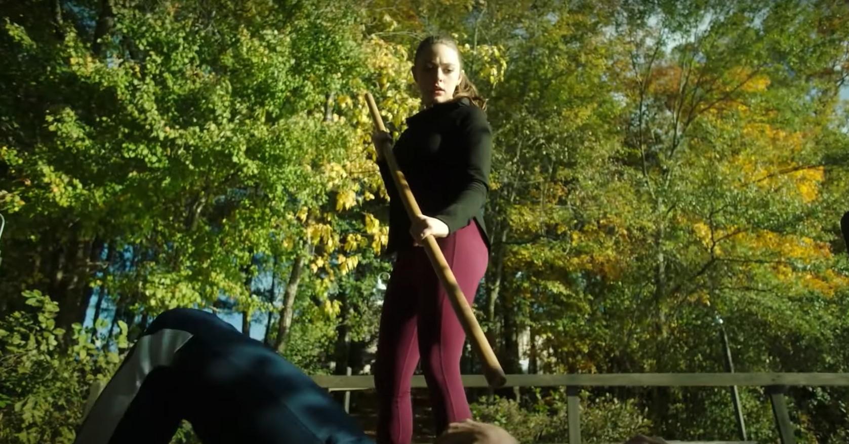 Danielle Rose Russell and Aria Shahghasemi on 'Legacies'