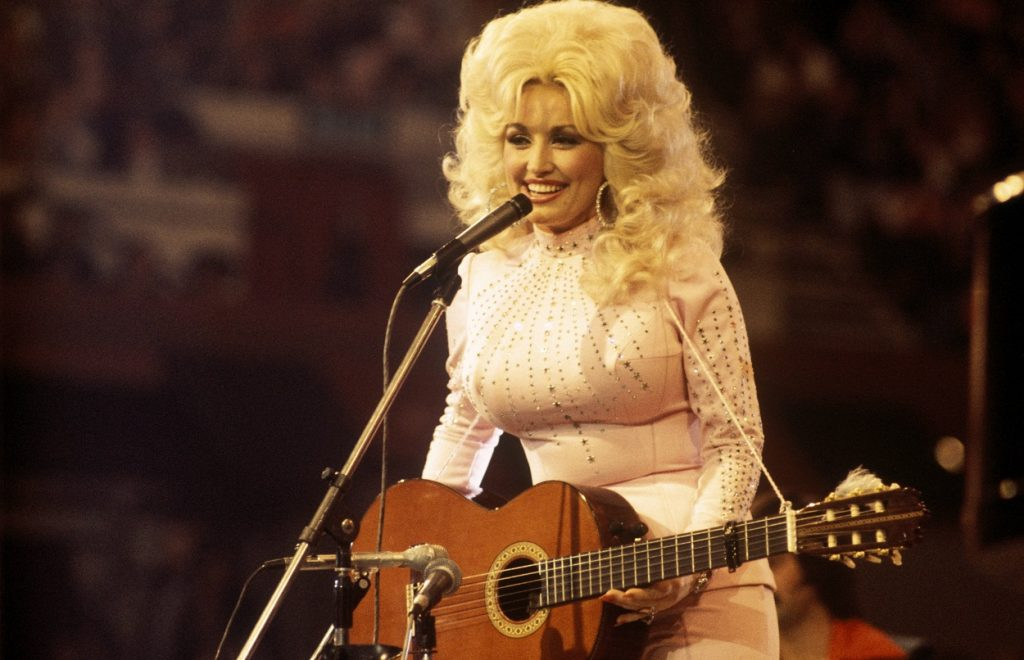 Dolly Parton performs songs live