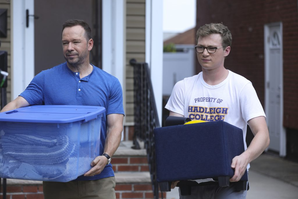 Danny Reagan sends his son, Jack Reagan, off to college. | Craig Blankenhorn/CBS via Getty Images