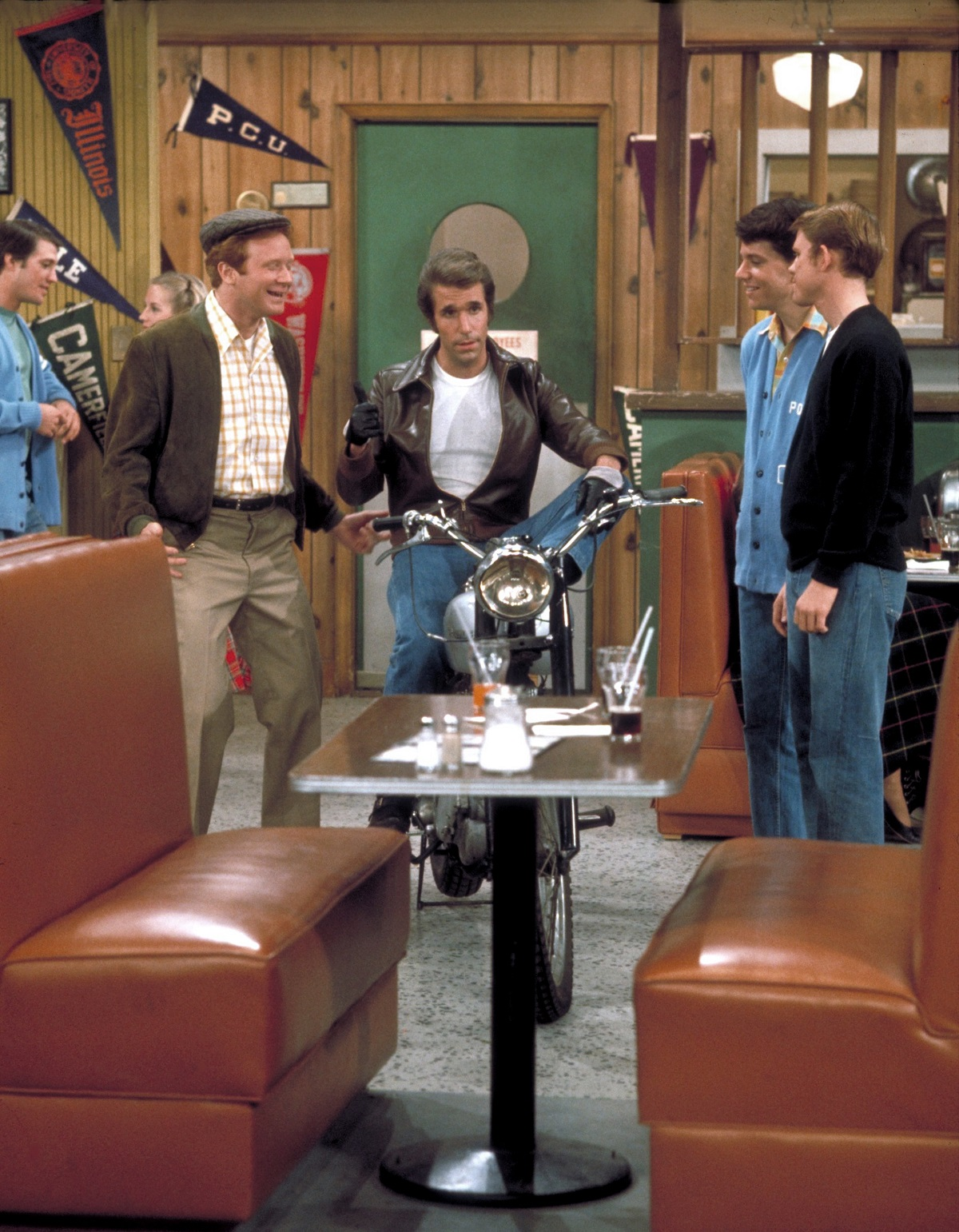 Donny Most, Henry Winkler, Anson Williams and Ron Howard